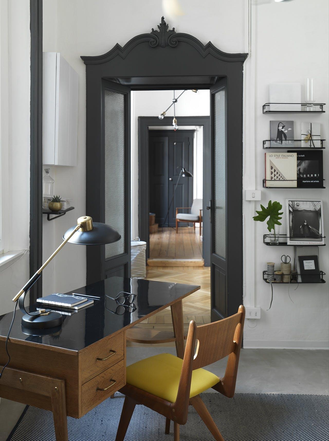 bolig indretning dansk design kontor skrivebord stol