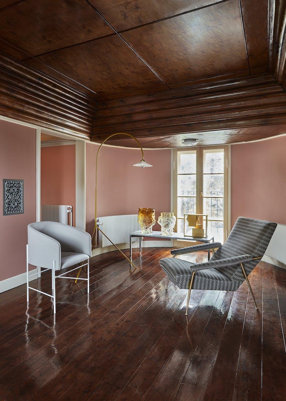 kay fisker hus styling bo bedre bord marmor glasvaser stol