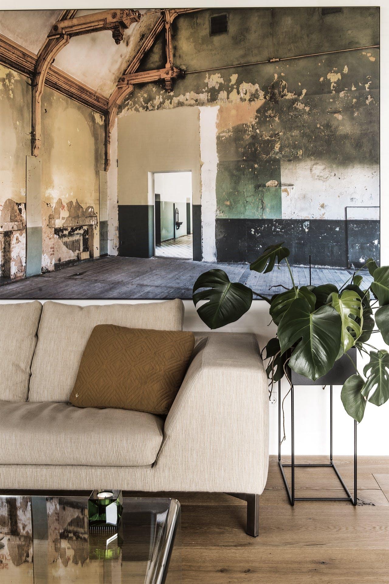 bolig boliger indretning arkitekttegnet huse sofa maleri
