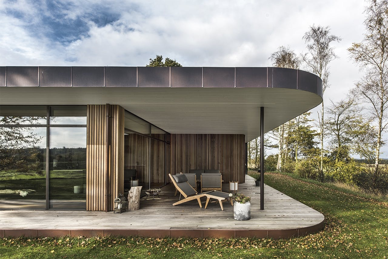 bolig boliger indretning arkitekttegnet huse facade træ