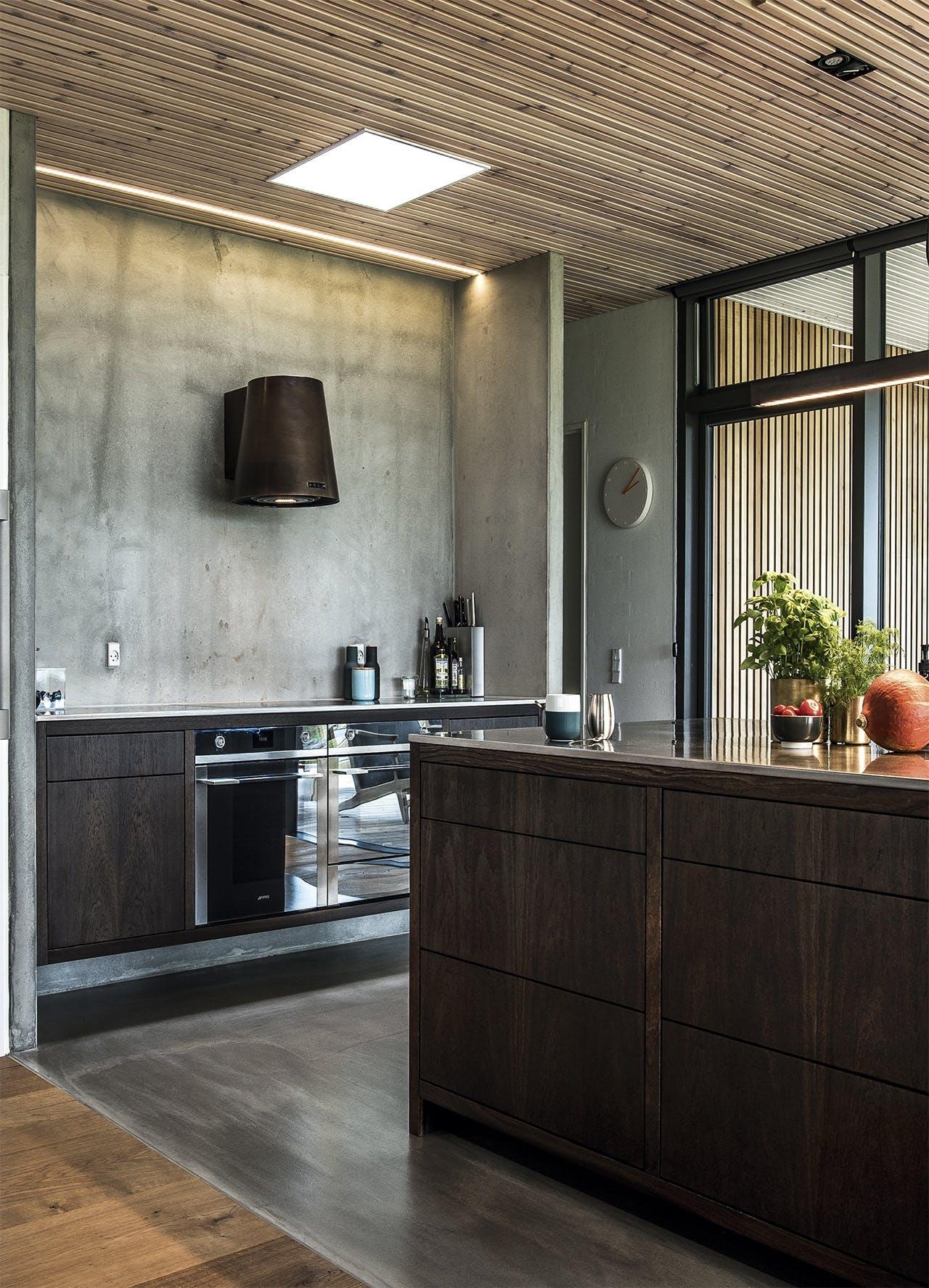 bolig boliger indretning arkitekttegnet huse køkken snedker køkken
