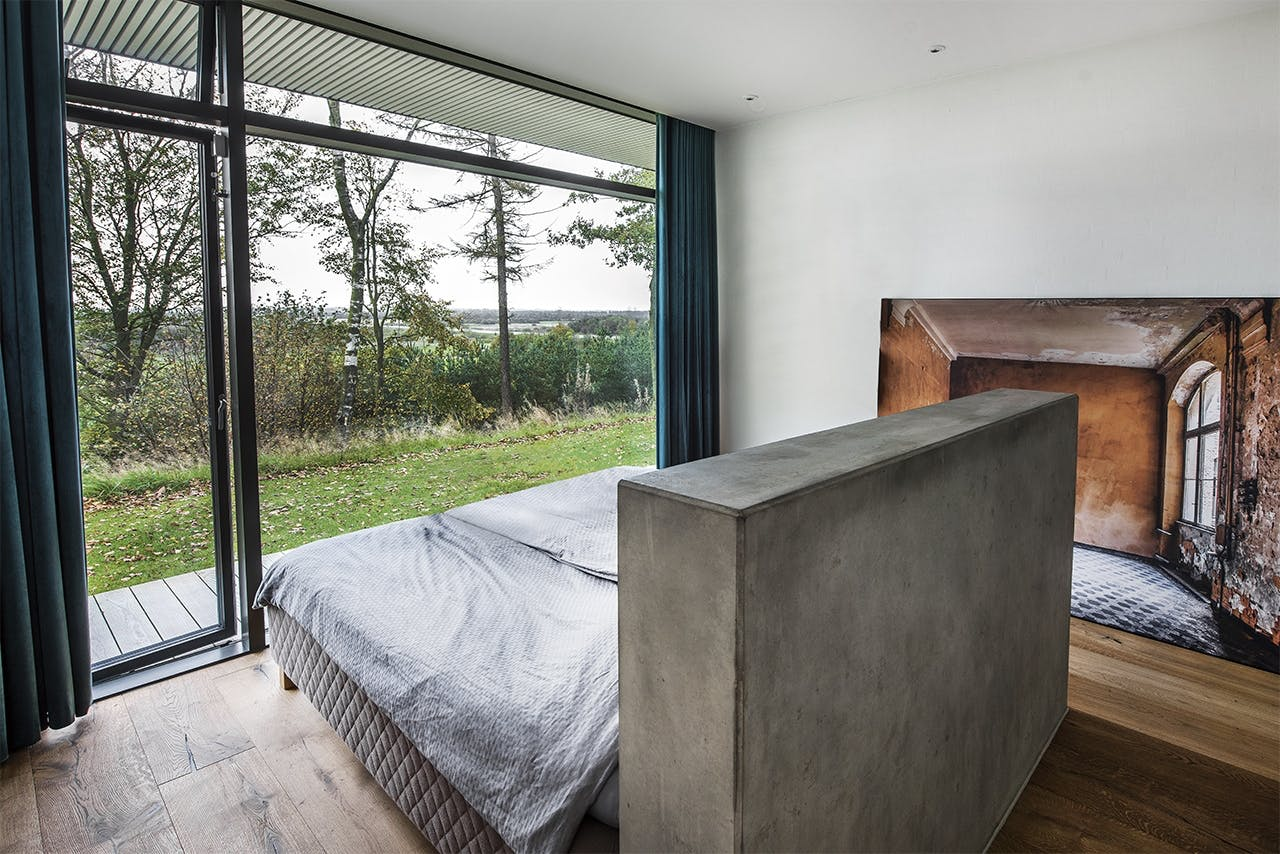 bolig boliger indretning arkitekttegnet huse soveværelse