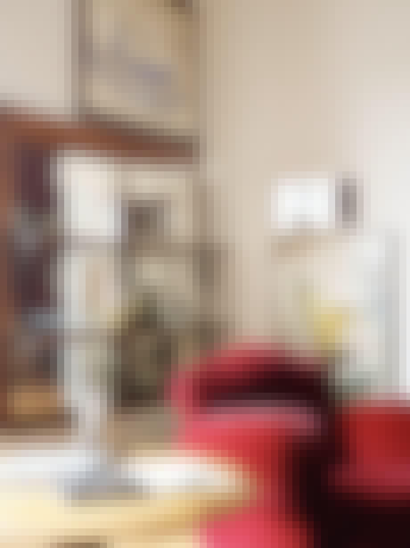 stefano vitali home bolig galleri hus rød lænestol
