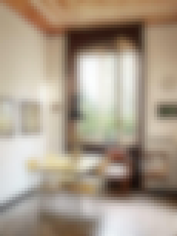 stefano vitali home bolig galleri hus spiseplads gul bord stole