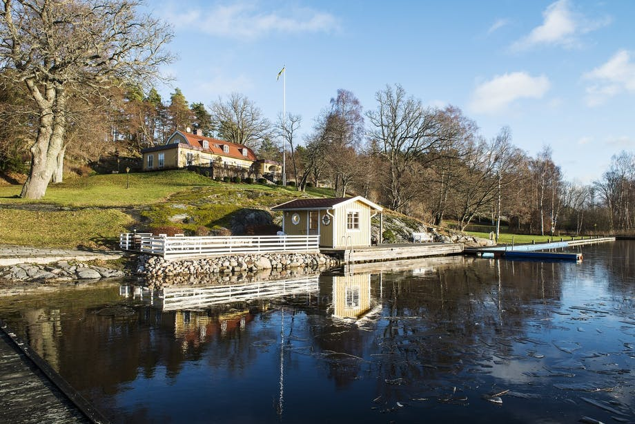 bolig indretning sverige greta garbo til salg østersøen