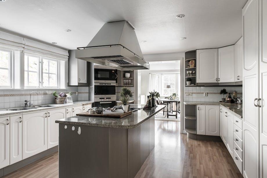 bolig indretning sverige greta garbo til salg køkken