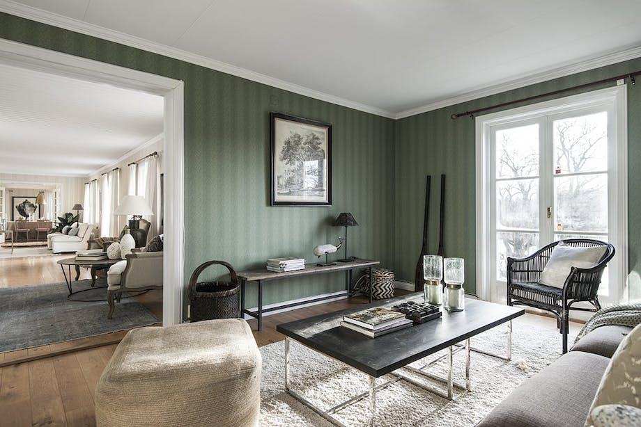 bolig indretning sverige greta garbo til salg stue