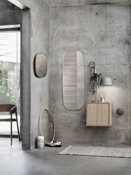 spejl make up spejl badeværelse muuto