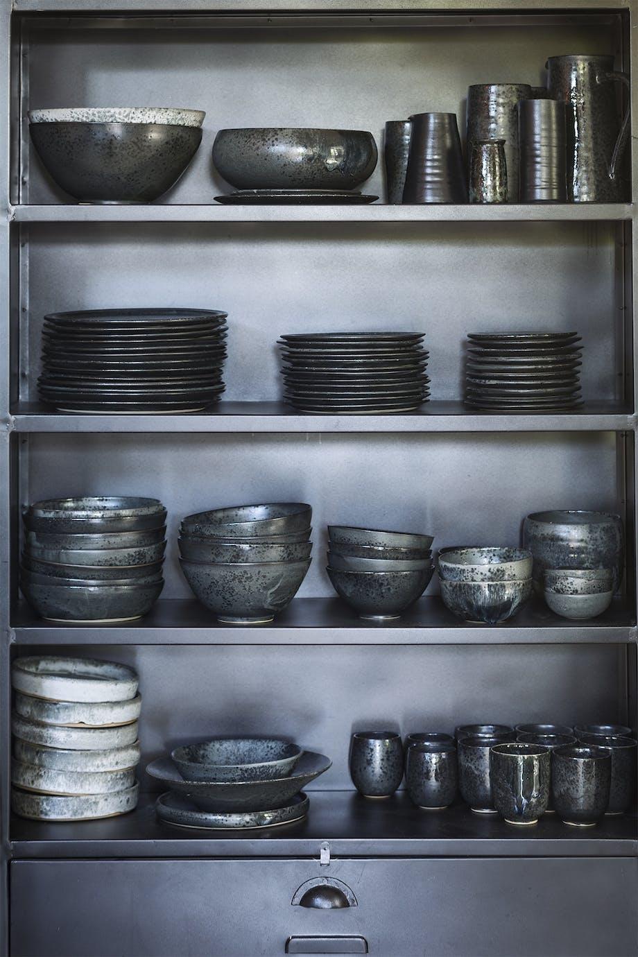 lejlighed villa indretning amager keramik sort