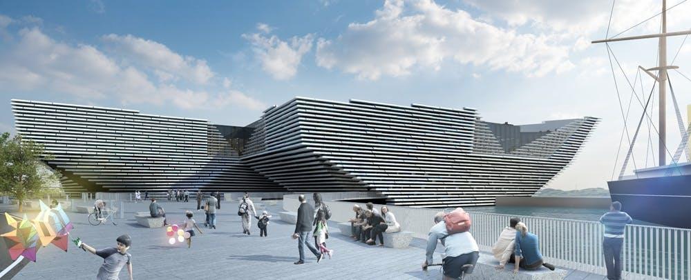 V&A Museum of Design, Dundee (Skotland)