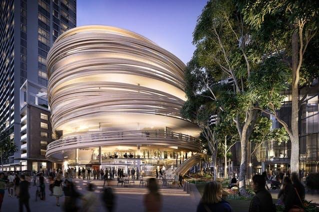 Darling Square Civic Building, Sydney