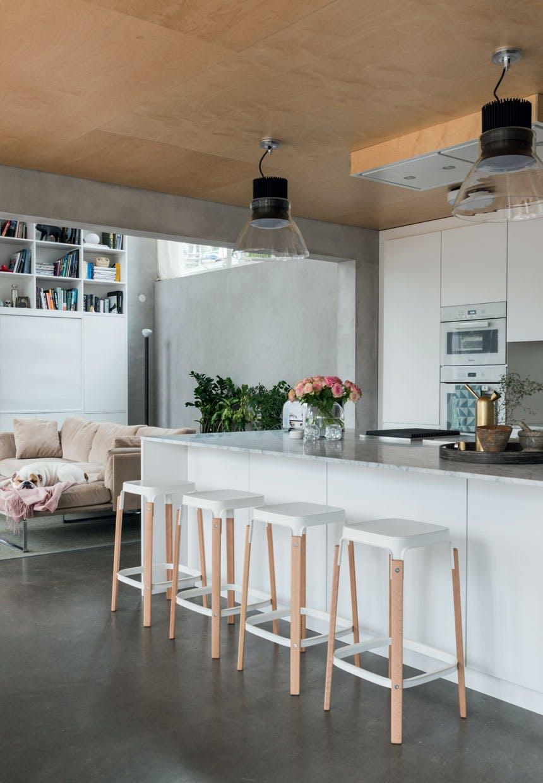 bolig indretning sverige natur køkken