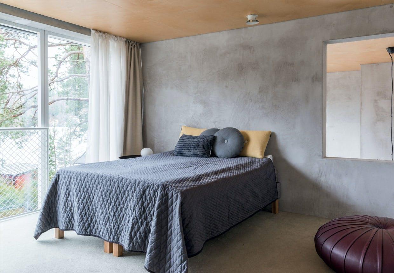 bolig indretning sverige natur seng hay