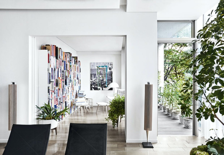 Smukt hjemmebibliotek