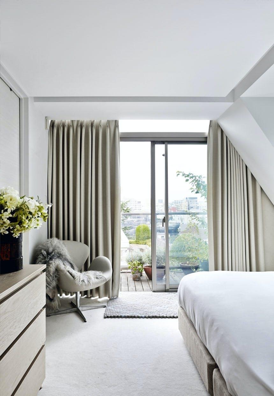 Hotel stemning i soveværelset