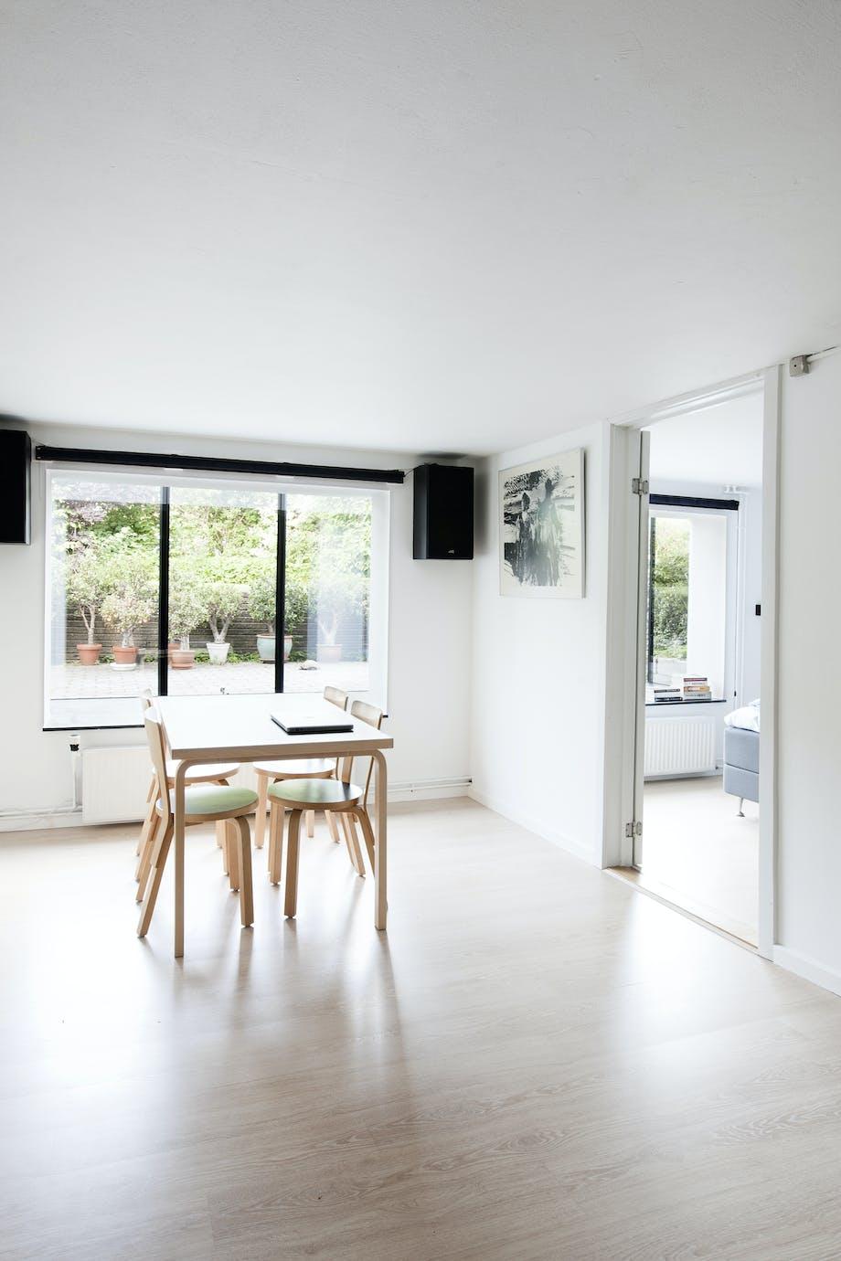 renovering ombygning kælder vinduer spisestue