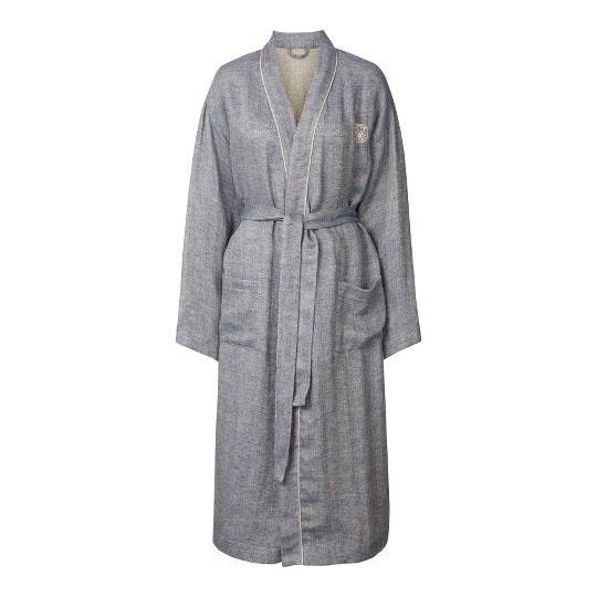 Georg Jensen Damask morgenkåbe linen kimono