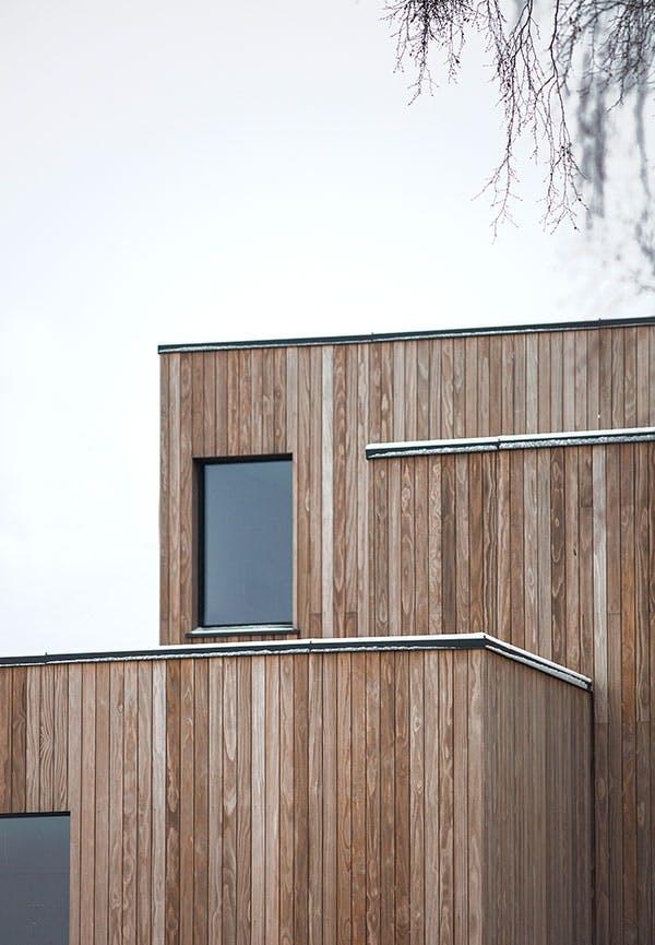 arkitektur norge hygge indretning moderne træ facade
