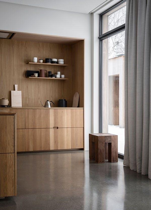 arkitektur norge hygge indretning moderne køkken