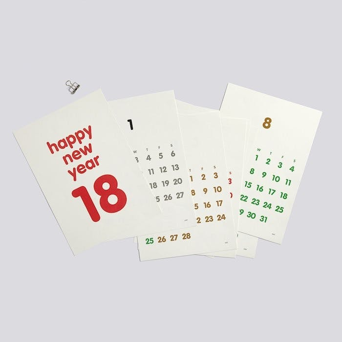 hay kalender calender 2018