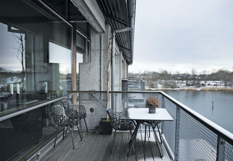 Terrasse med udsigt