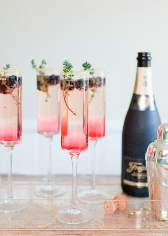 champagne velkomstdrink