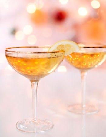 Champagne med Whiskey og vanilje
