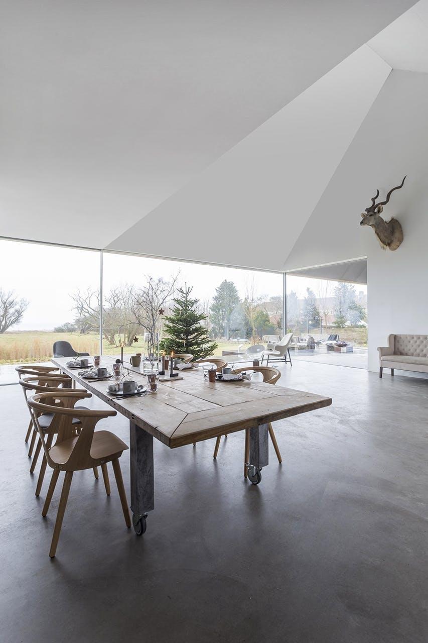 jul bolig bobedre moderne jul hygge indretning spisestue spisebord