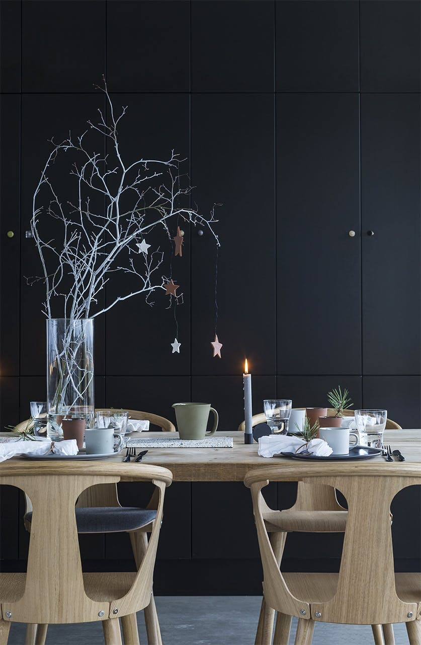 jul bolig bobedre moderne jul hygge indretning spisebord