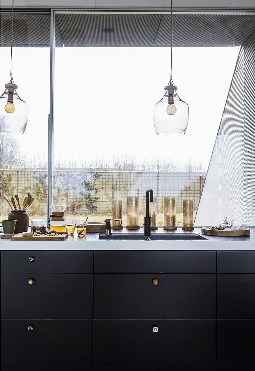 jul bolig bobedre moderne jul hygge indretning køkken