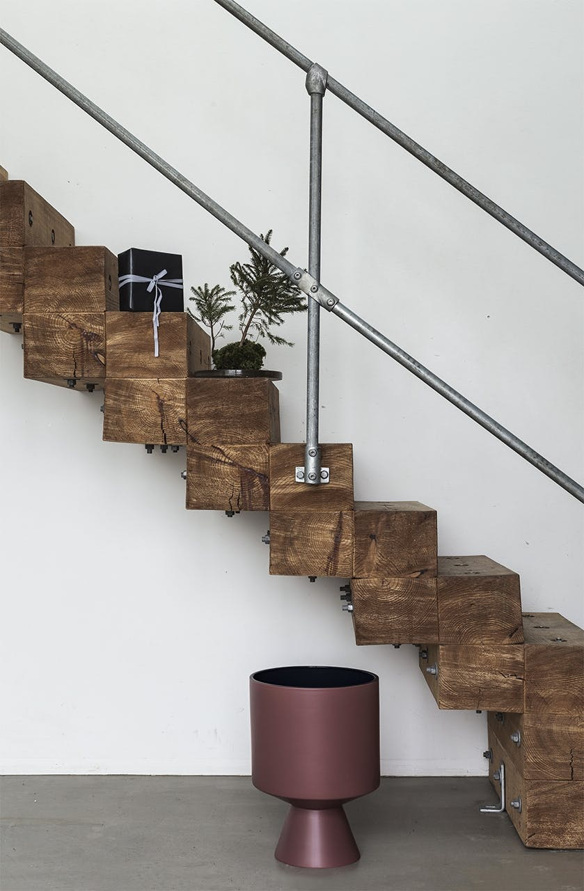 jul bolig bobedre moderne jul hygge indretning trappe kähler