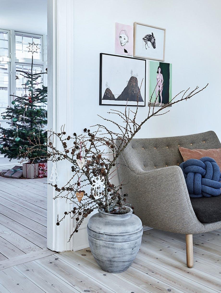 jul renovering ombygning hus villa sofa krukke