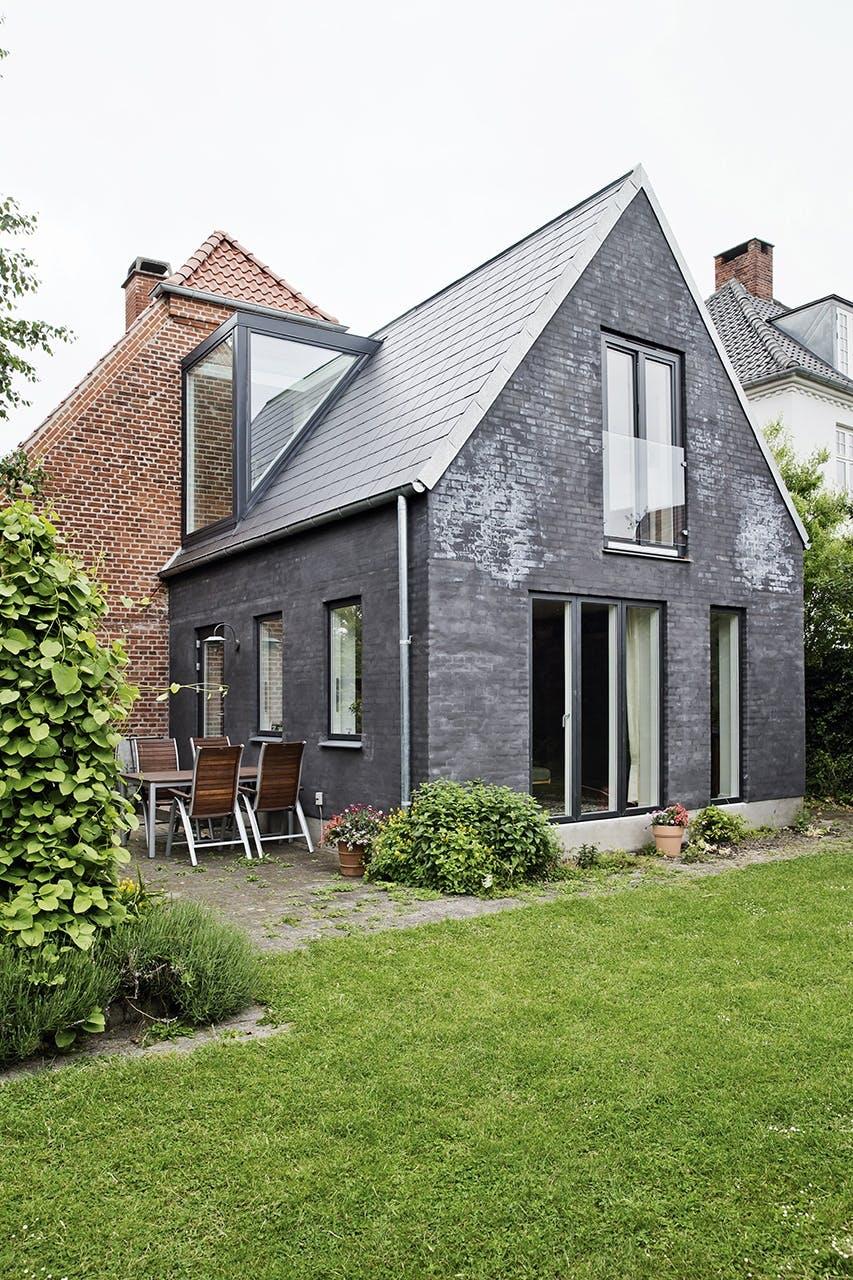 murermestervilla ombygning vindue glasparti tilbygning facade