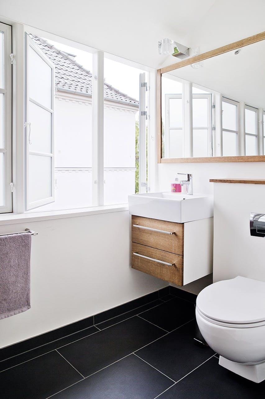 murermestervilla ombygning vindue glasparti tilbygning badeværelse