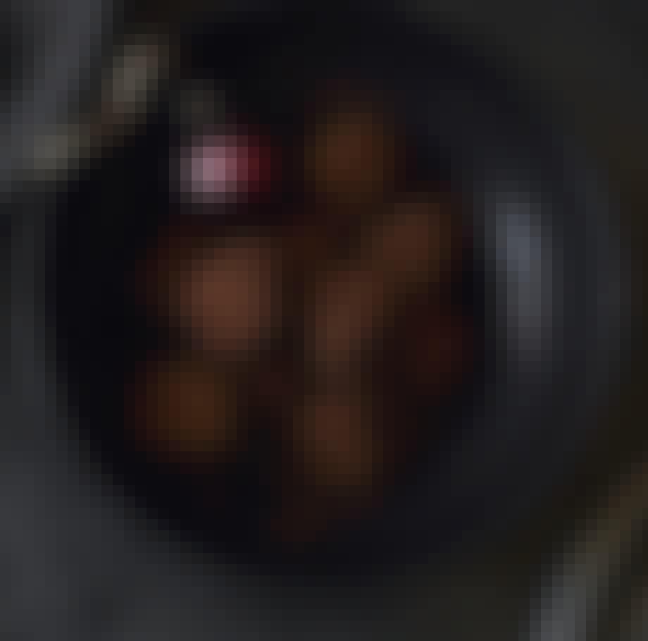 Fløjlsbløde rom- rosin-trøfler