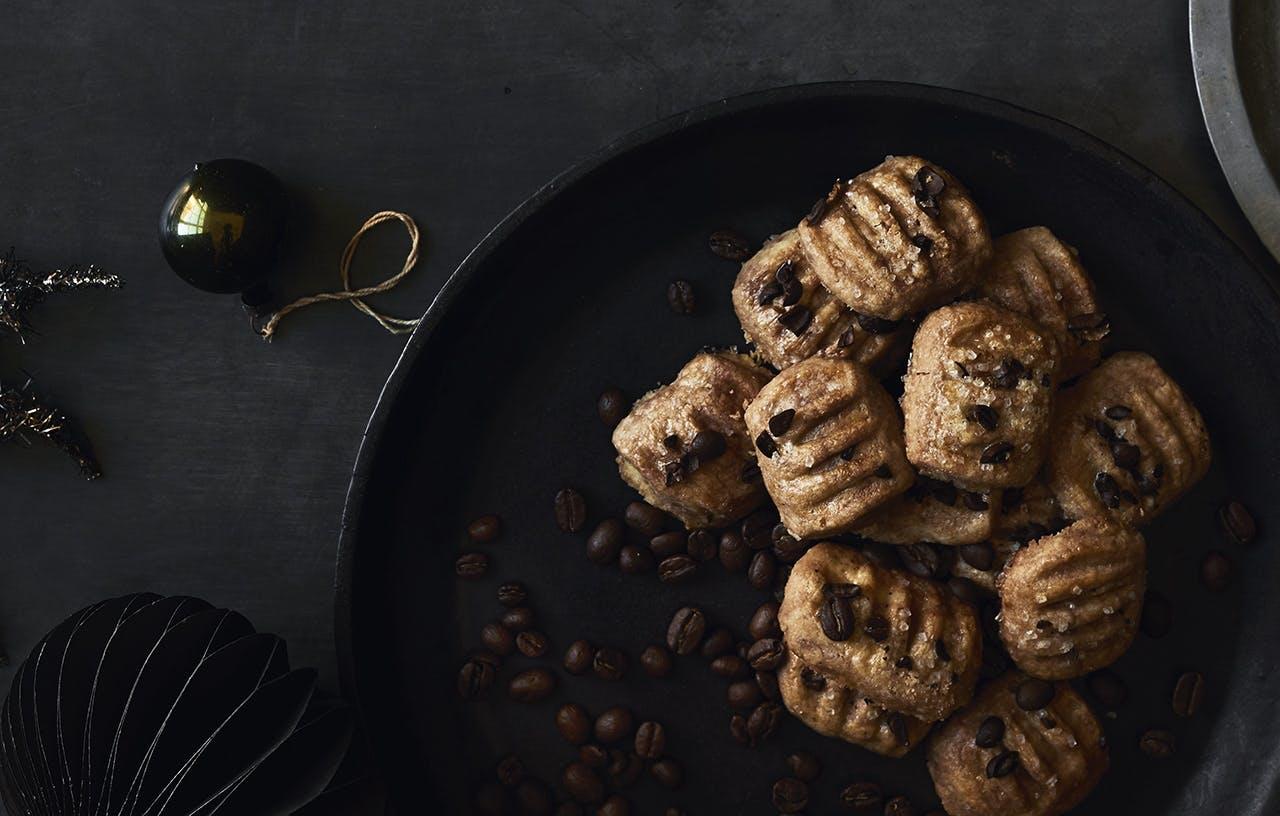 Snitter med espressocrunch