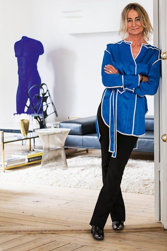 portræt af Pernille Hell, ejer og stifter af Sacrecoeur Studio/Design Store