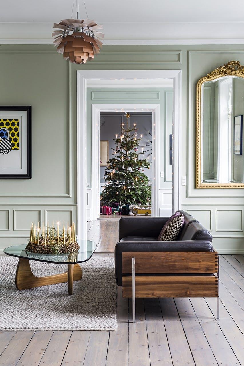 jul bolig indretning hygge lejlighed stue