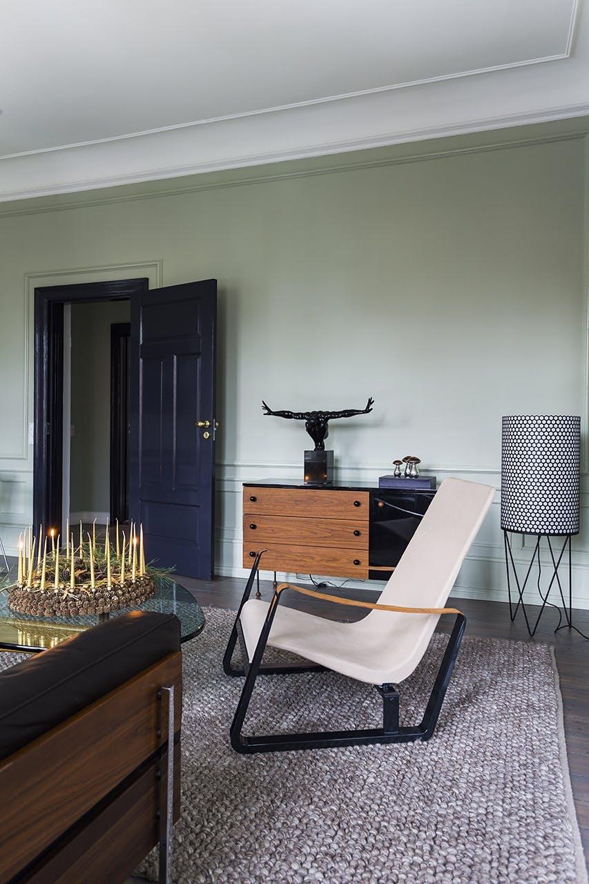 jul bolig indretning hygge lejlighed stue stol krans