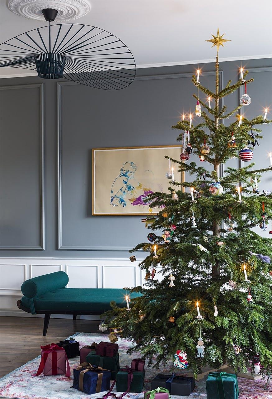 jul bolig indretning hygge lejlighed juletræ