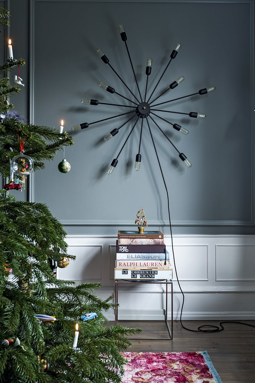jul bolig indretning hygge lejlighed lampe