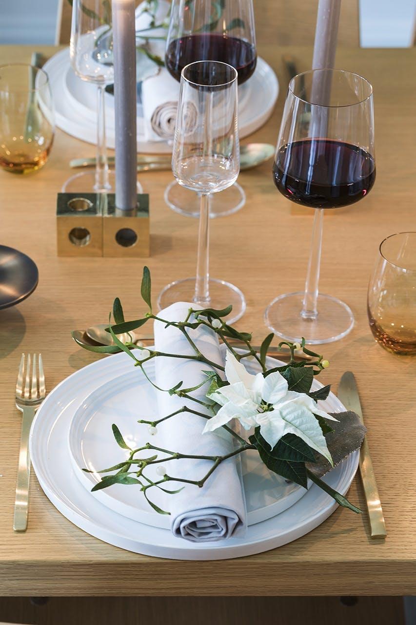 jul bolig indretning hygge lejlighed  bordopdækning jule bord
