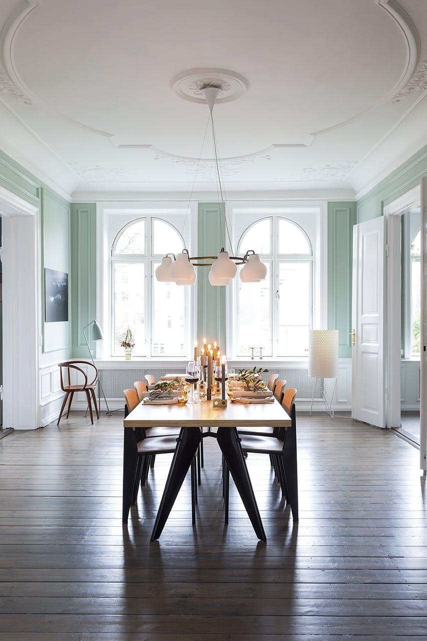 jul bolig indretning hygge lejlighed spisebord