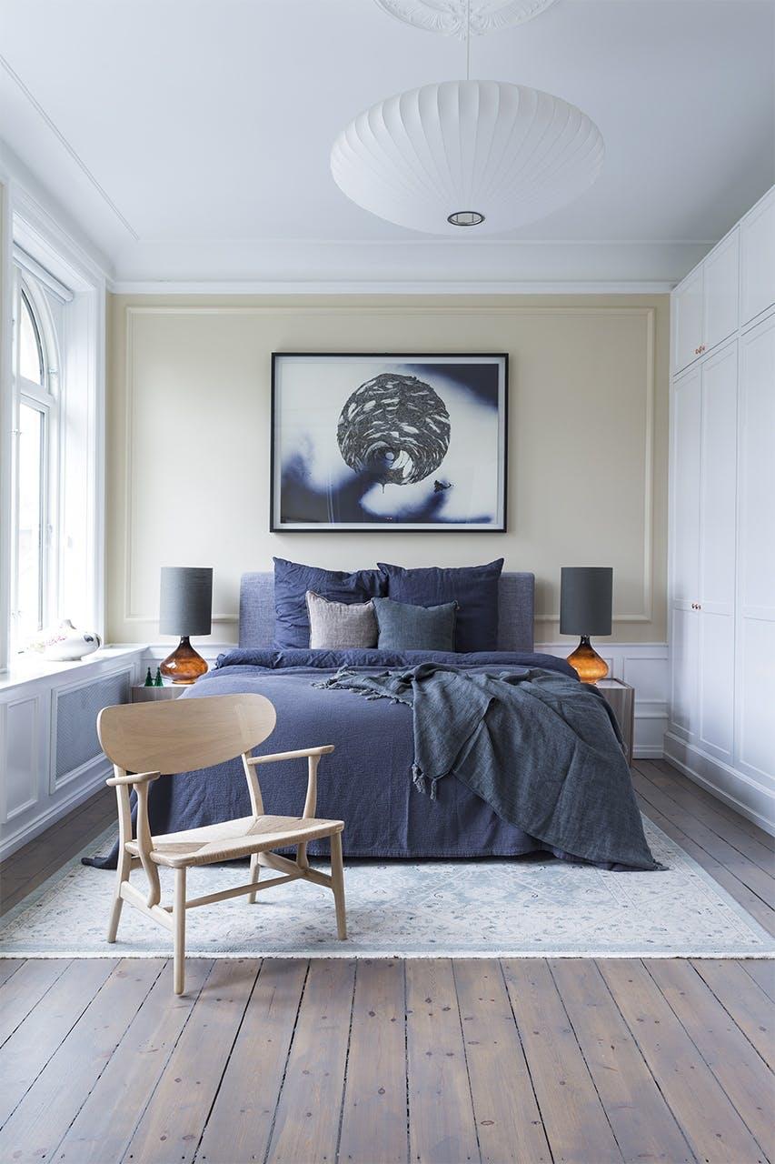 jul bolig indretning hygge lejlighed soveværelse seng