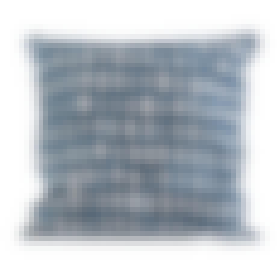 Håndmalet pude fra Stilleben