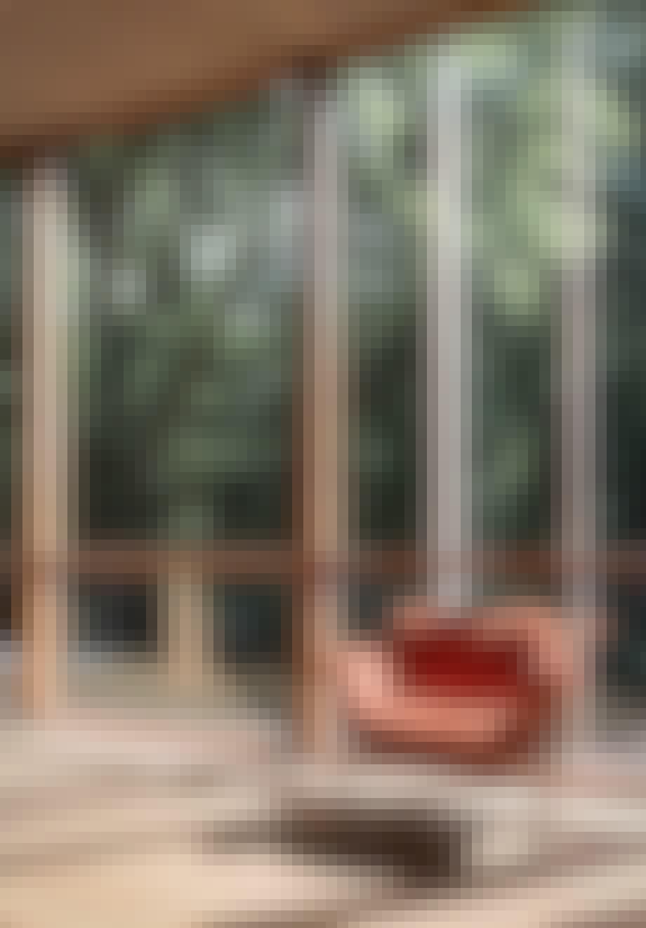 Lænestol med bløde former