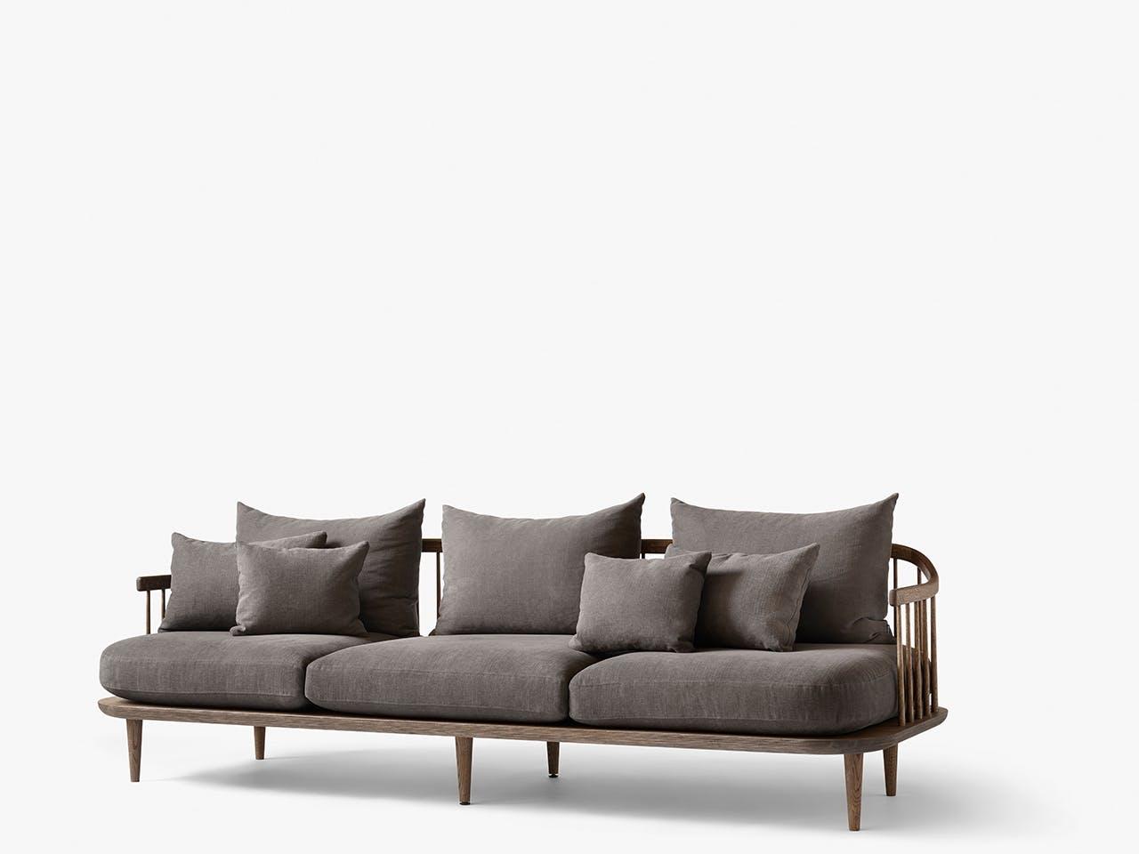 Sofa i grålige nuancer