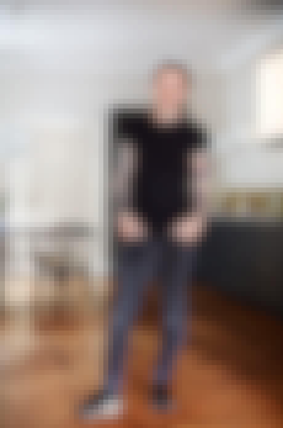trendekspert Mads arlien-søborg i hans lejlighed