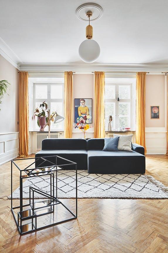 stue i lejlighed på christianshavn