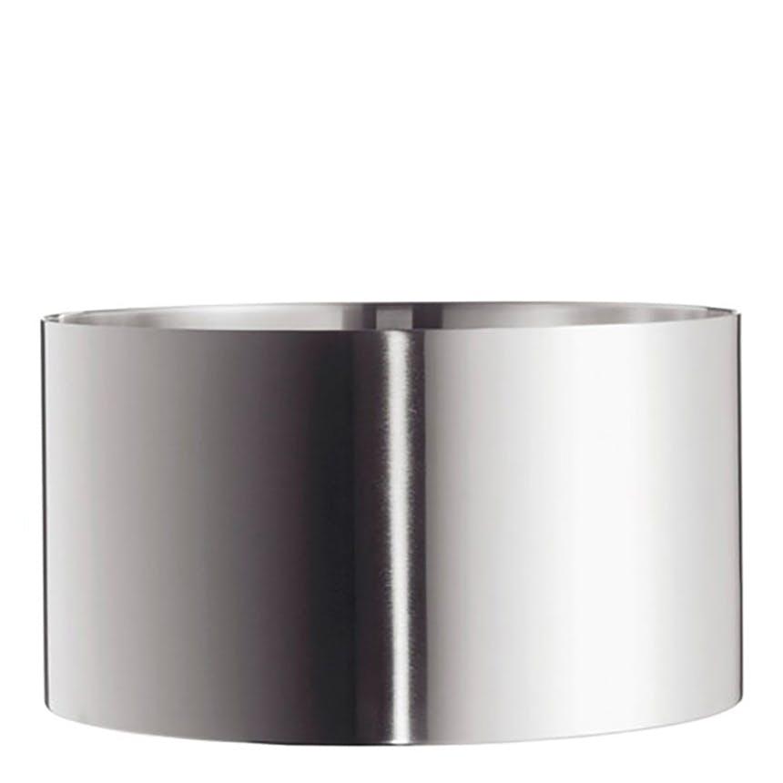 Salatskål i rustfrit stål i design af Arne Jacobsen